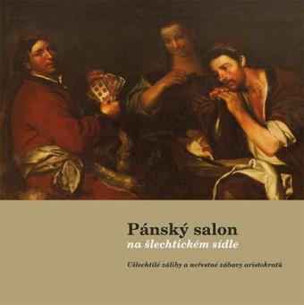 Pánský salon na šlechtickém sídle