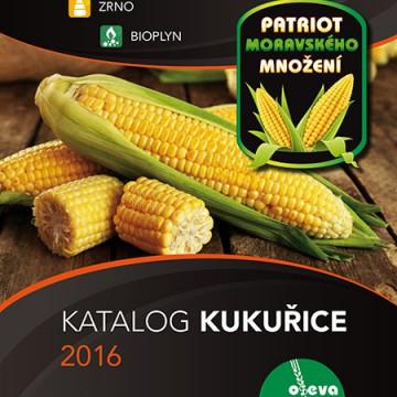OSEVA – Nabídka Kukuřice 2016