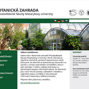 Botanická zahrada Brno