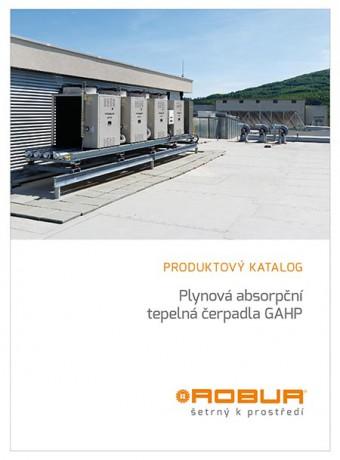 ROBUR. Plynová absorpční tepelná čerpadla GAHP