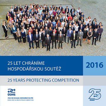 ÚOHS. 25 let chráníme hospodářskou soutěž